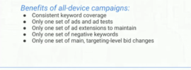 Keep AdWords Campaigns Consolidated