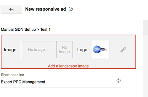 GDN Responsive Ad Image Upload Requirement